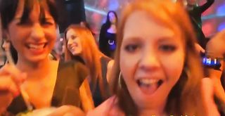 Crazy Moms and GFs Turn into Floozies & Suck & Fuck at Stripper Night